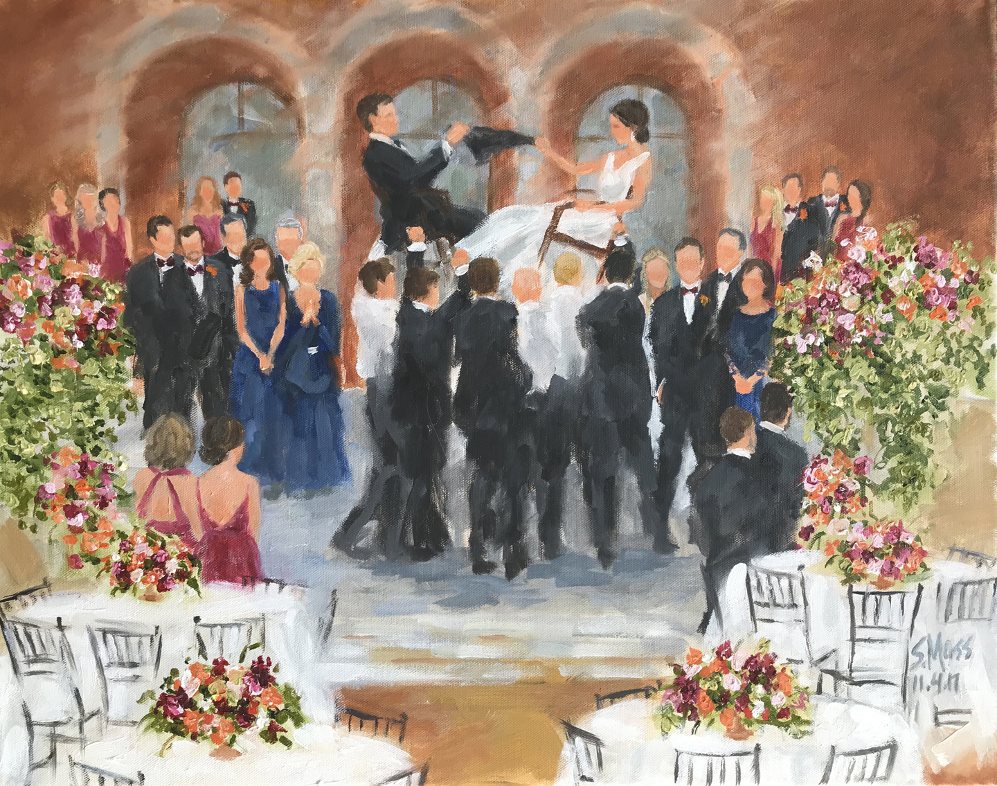Wedding painter, Dallas and Houston, Texas