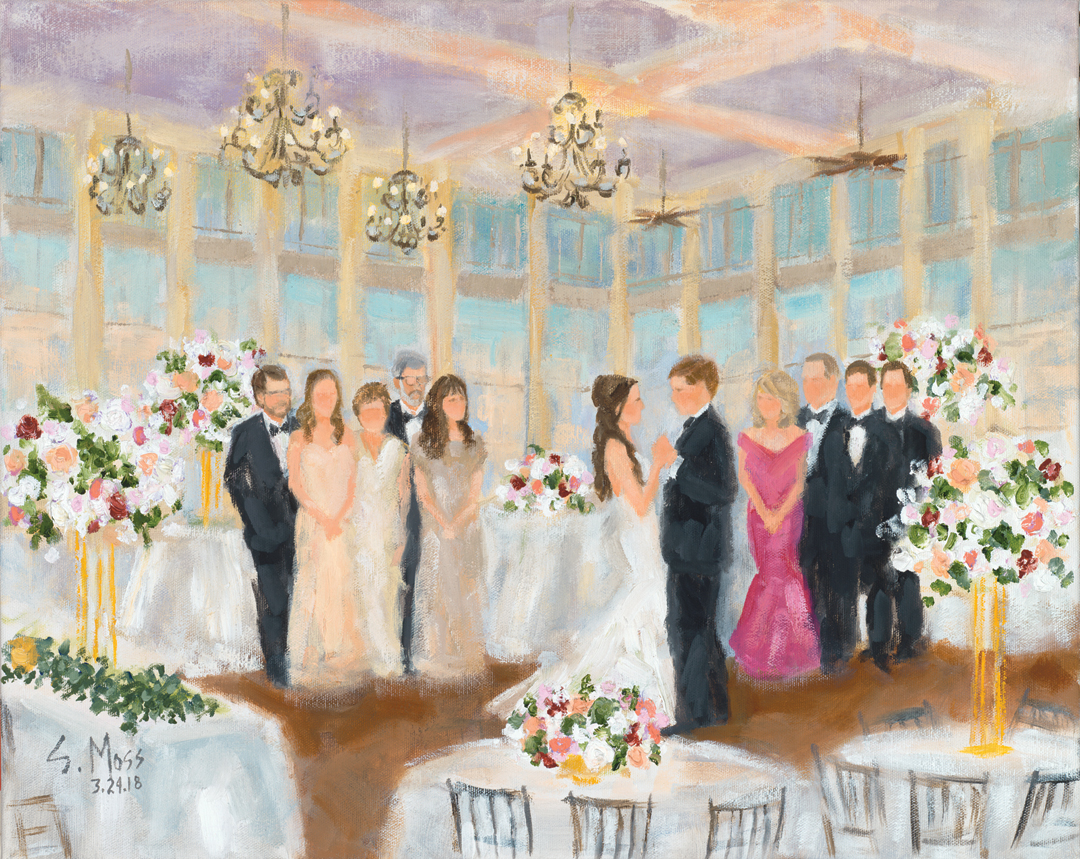 Dallas Wedding Painter