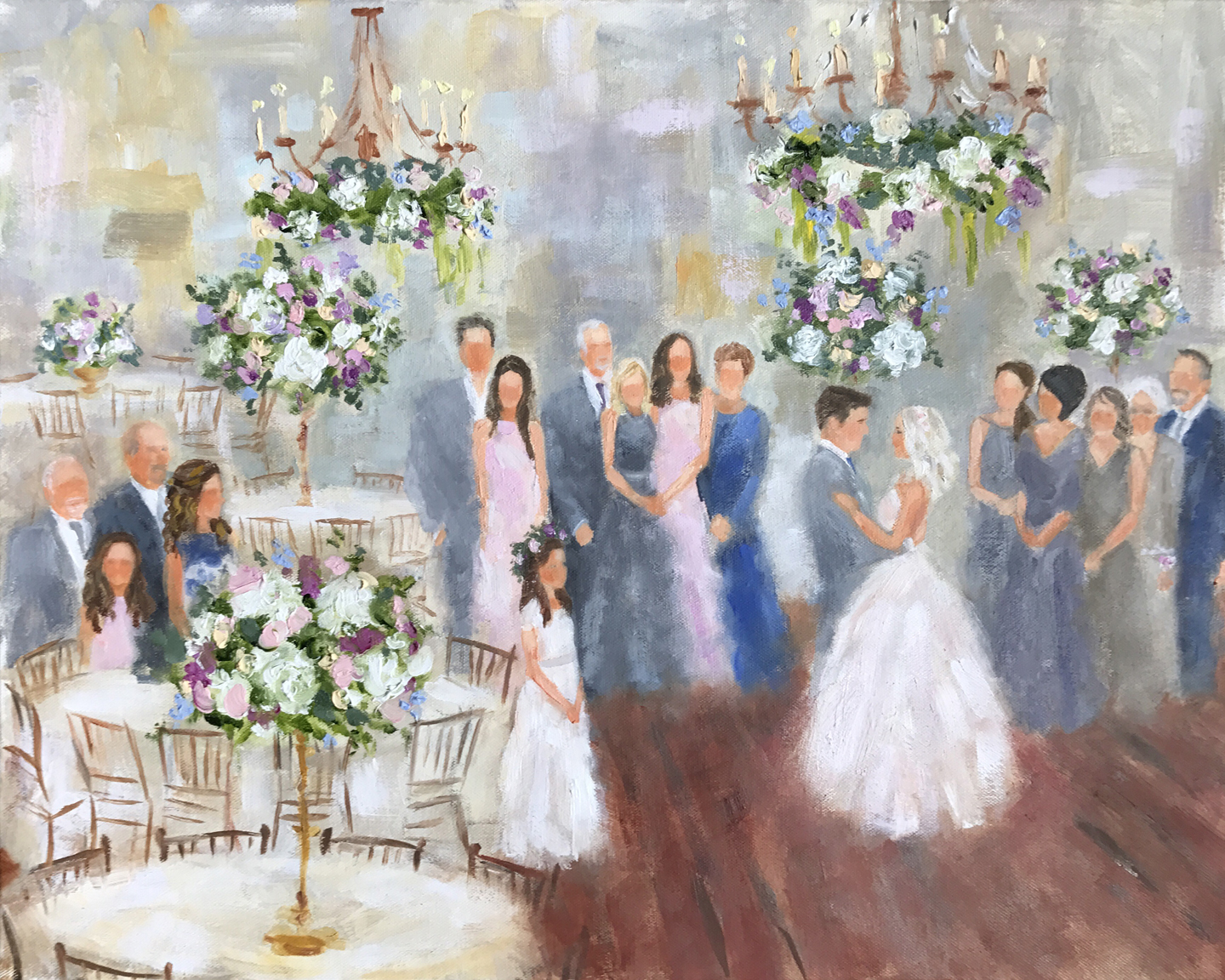 wedding painter dallas houston austin