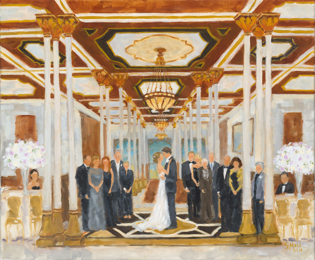 Driskill Hotel, Austin weddings